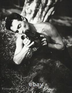 1985 SIEGFRIED & ROY Kiss Panther LAS VEGAS Illusion Magic BRUCE WEBER Art 16X20