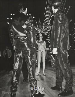 1985 Semi Nude SHOWGIRL Las Vegas By BRUCE WEBER Female Costume Photo Art 16X20