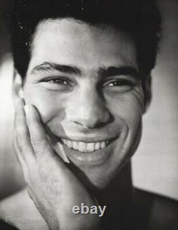 1985 Vintage Bruce Weber Male Portrait Ron Grace Las Vegas Photo Gravure Art