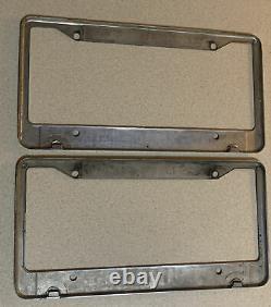 2 Las Vegas Nevada Friendly Ford Vintage Dealer License Plate Frames