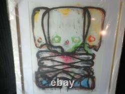 3 piece TRIPLE FRAMED ART PALMS CASINO LAS VEGAS Original Artist NOT A PRINT