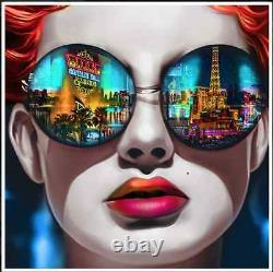 3d Pop Art Las Vegas Sunglasses