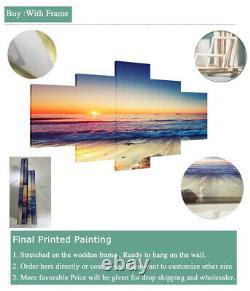 5 Piece Canvas Fabulous Las Vegas City Nevada Wall Art Print Picture Home Decor