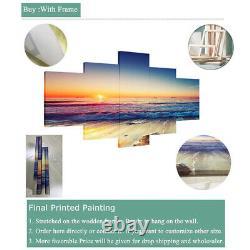 5 pcs Raiders Las Vegas City Painting Printed Canvas Wall Art Home Decorative