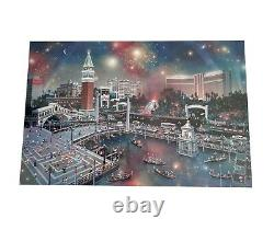 ALEXANDER CHEN The Grand View Las Vegas Limited Edition signed Lithograph