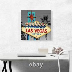 ARTCANVAS Welcome To Fabulous Las Vegas Sign Sin City Nevada Canvas Art Print