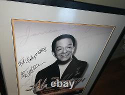Al Jarreau Signed Large Concert Poster Railhead Las Vegas Framed Autographed
