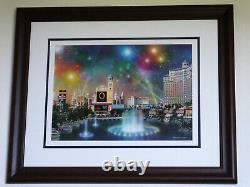 Alexander Chen Las Vegas Evening Signed and numbered #339 of 1000