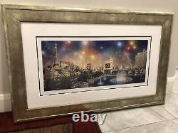 Alexander Chen Las Vegas Panorama Signed 1047/2250