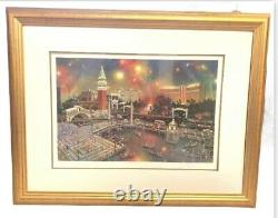 Alexander Chen The Grand View Las Vegas Signed & Numbered Framed Serio-litho