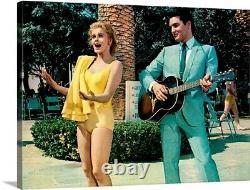 Ann Margret And Elvis Presley In Viva Las Vegas Movie Canvas Print Wall Art