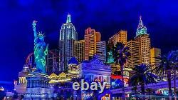 Canvas Picture Mural Las Vegas Cities USA Travel High Quality Print