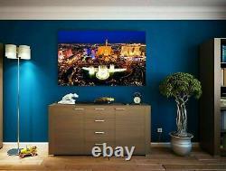 Canvas Skyline Las Vegas USA Picture Mural High Quality Art Print XXL
