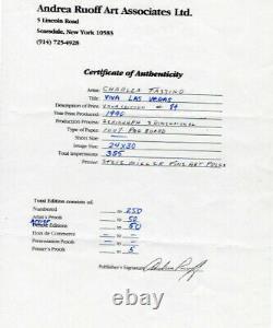 Charles Fazzino 3-D Serigraph, Viva Las Vegas (Limited Edition)