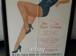 Cyd Charisse Las Vegas Sexy Leggy Classic Framed
