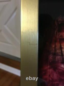 ELVIS PRESLEY VIVA LAS VEGAS FRAMED 24kt GOLD PLATED 45 RPM RECORD