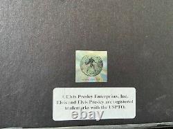 Elvis presley gold disc 24kt framed viva las vegas rare ltd 2500. Official epe