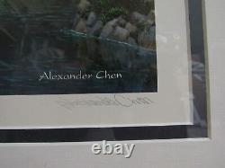FRAMED Las Vegas Evening Signed Las Vegas Ltd Ed by Alexander Chen