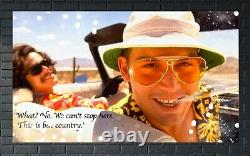 Fear and Loathing in Las Vegas Canvas prints Extra Large Framed Poster