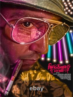 Fear and Loathing in Las Vegas Limited Giclee Print Art Poster #125 18 x 24