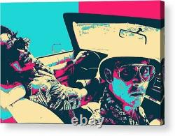 Fear and Loathing in Las Vegas Movie Paper Posters or Canvas Framed Wall Art