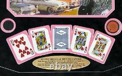 Flamingo Las Vegas Bugsy Siegel Meyer Lansky 1946 Opening Casino Used Chip Frame