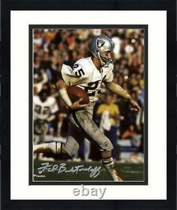 Framed Fred Biletnikoff Las Vegas Raiders Autographed 8 x 10 Run Photograph