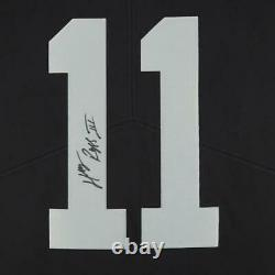 Framed Henry Ruggs III Las Vegas Raiders Autographed Black Nike Limited Jersey