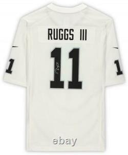 Framed Henry Ruggs III Las Vegas Raiders Autographed Nike White Game Jersey