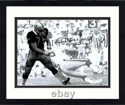 Framed Howie Long Las Vegas Raiders Autographed 11'' x 14'' Spotlight Photograph