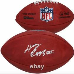 Henry Ruggs III Las Vegas Raiders Signed Duke Game Football