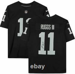 Henry Ruggs III Las Vegas Raiders Signed Nike Black Limited Jersey