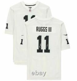 Henry Ruggs III Las Vegas Raiders Signed White Nike Game Jersey 1st Vegas Pick