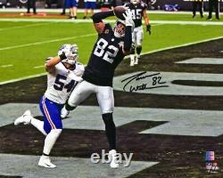 Jason Witten Las Vegas Raiders Signed 8 x 10 Touchdown Catch Photograph