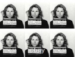 Jim Morrison Mugshot 1968 Las Vegas The Doors 17 x 22 Fine Art Print 00261