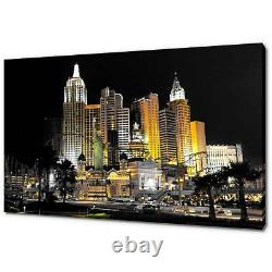 Las Vegas Canvas Print Picture Wall Art Home Decor Free Fast Delivery