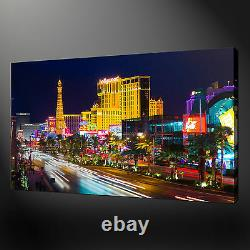 Las Vegas Premium Quality Canvas Print Picture Modern Wall Art Ready To Hang