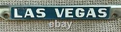 Las Vegas vintage Desert Chrysler metal Dealer License Plate Frame