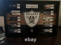 Las vegas raiders framed season tickets 2020 Inaugural Season With No Fans