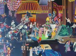 Melanie Taylor Kent Las Vegas Artist Proof Serigraph 1985 33x25 Vintage