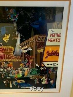 Melanie Taylor Kent Las Vegas Artist Proof Serigraph 1985 With CoA