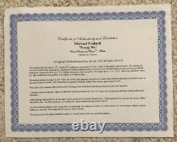 Michael Godard-BUTTERFLY WINE-Grape-Fun-Red-Las Vegas-ArtSN- Framed