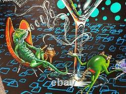 Michael Godard-LOUNGE LIZARD-Las Vegas-Martini-Olives Limited Edition 345/500