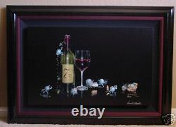 Michael Godard-SEVEN DEADLY ZINS Red Wine-Las Vegas-Sins-VINTNER-Art-7FRAMED