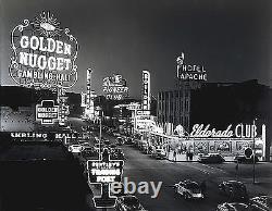 Old Las Vegas 1950s Golden Nugget Eldorado Boulder Savoy-17x22 Art Print-00176