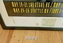 Original Grateful Dead Print Las Vegas, Seattle, Mountain View, Portland 1995