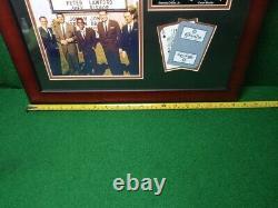 Photo Framed The Rat Pack Sands Casino Hotel Las Vegas