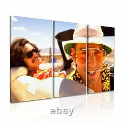 RAOUL DUKE Fear and Loathing in Las Vegas Movie Framed Canvas Print More Size