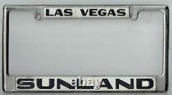 RARE Las Vegas Nevada Sunland Volkswagen Porsche Vintage VW License Plate Frame