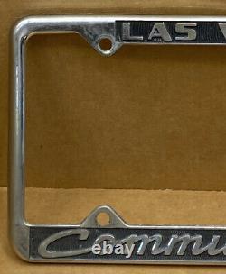 Rare Chevrolet (las Vegas Nv.) Community Chevy License Plate Frame